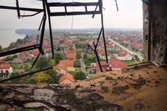 Γενναία πόλη - Vukovar Στοκ Φωτογραφίες