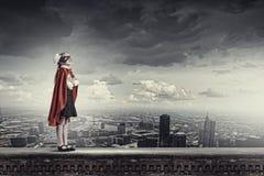 Γενναίο superkid στοκ φωτογραφία