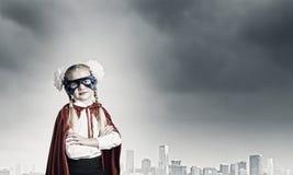 Γενναίο superkid Στοκ εικόνα με δικαίωμα ελεύθερης χρήσης