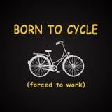 Γεννημένος στο υπόβαθρο κύκλων Στοκ εικόνα με δικαίωμα ελεύθερης χρήσης