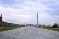 Γενοκτονία Jerevan σύνθετη στοκ φωτογραφίες με δικαίωμα ελεύθερης χρήσης