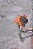 Γεντιανή Taggers, μορφή οδός-τέχνης: Γκράφιτι ειδικότητας, ομαδική εργασία Στοκ Εικόνα