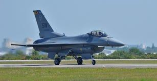 Γεράκι/οχιά πάλης F-16 Στοκ εικόνα με δικαίωμα ελεύθερης χρήσης