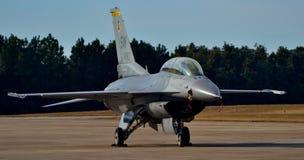 Γεράκι/οχιά πάλης F-16 Στοκ Εικόνες