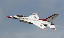 Γεράκι πάλης F-16 Στοκ Εικόνα