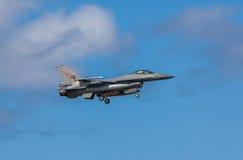 Γεράκι πολεμικό αεροσκάφος F-16 Στοκ Εικόνα