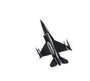 Γεράκι πολεμικό αεροσκάφος F-16 Στοκ Εικόνες