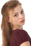 γεράστε το όμορφο κορίτσι κοντά δεκαπέντε επάνω στοκ εικόνες με δικαίωμα ελεύθερης χρήσης