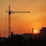 γερανοί βιομηχανικοί Στοκ Φωτογραφίες
