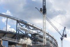 Γερανοί κατασκευής Στοκ φωτογραφία με δικαίωμα ελεύθερης χρήσης