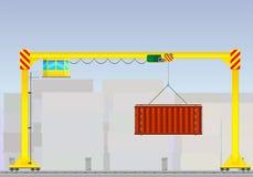 Γερανοί πύργων για τη βιομηχανική χρήση Στοκ φωτογραφία με δικαίωμα ελεύθερης χρήσης