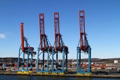 Γερανοί φορτίου Στοκ φωτογραφίες με δικαίωμα ελεύθερης χρήσης