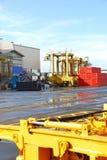 γερανοί φορτίου Στοκ Εικόνα