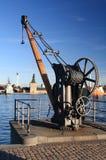 Γερανός αποβαθρών Στοκ φωτογραφία με δικαίωμα ελεύθερης χρήσης