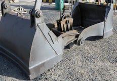 Γερανός ατσάλινων σκελετών βυθοκόρων Χειρισμός φορτίου Βιομηχανία εξοπλισμός του σκάφους Στοκ Εικόνα