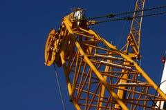 γερανός βαρύς Στοκ Φωτογραφίες