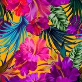 Γερανός και λουλούδια Στοκ Φωτογραφίες