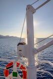 Γερανός και lifebuoy στοκ φωτογραφίες με δικαίωμα ελεύθερης χρήσης