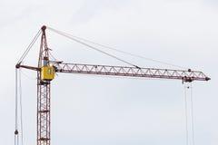 Γερανός κατασκευής δομών μετάλλων Στοκ εικόνες με δικαίωμα ελεύθερης χρήσης