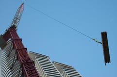 γερανός κατασκευής Στοκ εικόνα με δικαίωμα ελεύθερης χρήσης