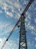 γερανός κατασκευής Στοκ φωτογραφίες με δικαίωμα ελεύθερης χρήσης
