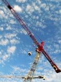 γερανός κατασκευής Στοκ εικόνες με δικαίωμα ελεύθερης χρήσης