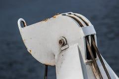 Γερανός ναυαγοσωστικών λέμβων Στοκ Εικόνες