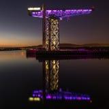 Γερανός τιτάνων, Clydebank Σκωτία στοκ φωτογραφία