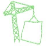 Γερανός χλόης Απεικόνιση αποθεμάτων