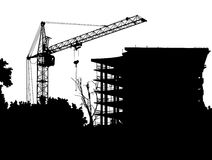 γερανός Στοκ φωτογραφία με δικαίωμα ελεύθερης χρήσης