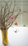 Γερανός Origami κινητός Στοκ Εικόνα