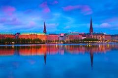 Γερμανία Αμβούργο Στοκ εικόνα με δικαίωμα ελεύθερης χρήσης