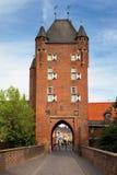 Γερμανία, βόρειος τοίχος, η βόρεια πύλη πόλεων Στοκ φωτογραφία με δικαίωμα ελεύθερης χρήσης