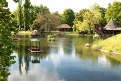 Γερμανία Θέρετρο πάρκων Heide σε Soltau Στοκ Εικόνες