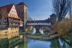 Γερμανία Νυρεμβέργη Στοκ Εικόνες