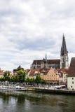 Γερμανία Ρέγκενσμπουργκ Στοκ φωτογραφίες με δικαίωμα ελεύθερης χρήσης