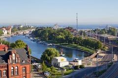 Γερμανία, Warnemuende, παλαιό κανάλι Στοκ φωτογραφία με δικαίωμα ελεύθερης χρήσης