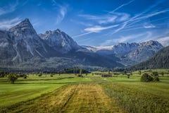 Γερμανικά βουνά Στοκ Εικόνες