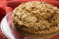 Γερμανικά κέικ καφέ σκαλιών Kuchen- - alema Cuca Στοκ εικόνα με δικαίωμα ελεύθερης χρήσης