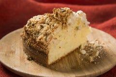 Γερμανικά κέικ καφέ σκαλιών Kuchen- - alema Cuca Στοκ Φωτογραφίες