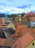 γερμανικά σπίτια Στοκ Φωτογραφία