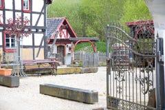 γερμανικά σπίτια Στοκ Εικόνες