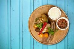 Γερμανικά τρόφιμα στοκ εικόνα με δικαίωμα ελεύθερης χρήσης