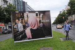 Γερμανικές τοπικές εκλογές Στοκ Εικόνες