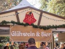 Γερμανική αγορά Χριστουγέννων Στοκ εικόνα με δικαίωμα ελεύθερης χρήσης