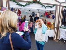 Γερμανική αγορά Χριστουγέννων στοκ φωτογραφία με δικαίωμα ελεύθερης χρήσης