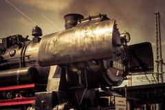 Γερμανική ατμομηχανή ατμοπλοίων στοκ εικόνα με δικαίωμα ελεύθερης χρήσης