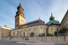 Γερμανική εκκλησία στο Γκέτεμπουργκ Στοκ Φωτογραφία