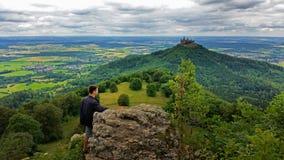 Γερμανική καταπληκτική άποψη του Castle Στοκ φωτογραφία με δικαίωμα ελεύθερης χρήσης