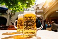 Γερμανική μπύρα Στοκ φωτογραφία με δικαίωμα ελεύθερης χρήσης